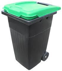 poubelle avec collerette