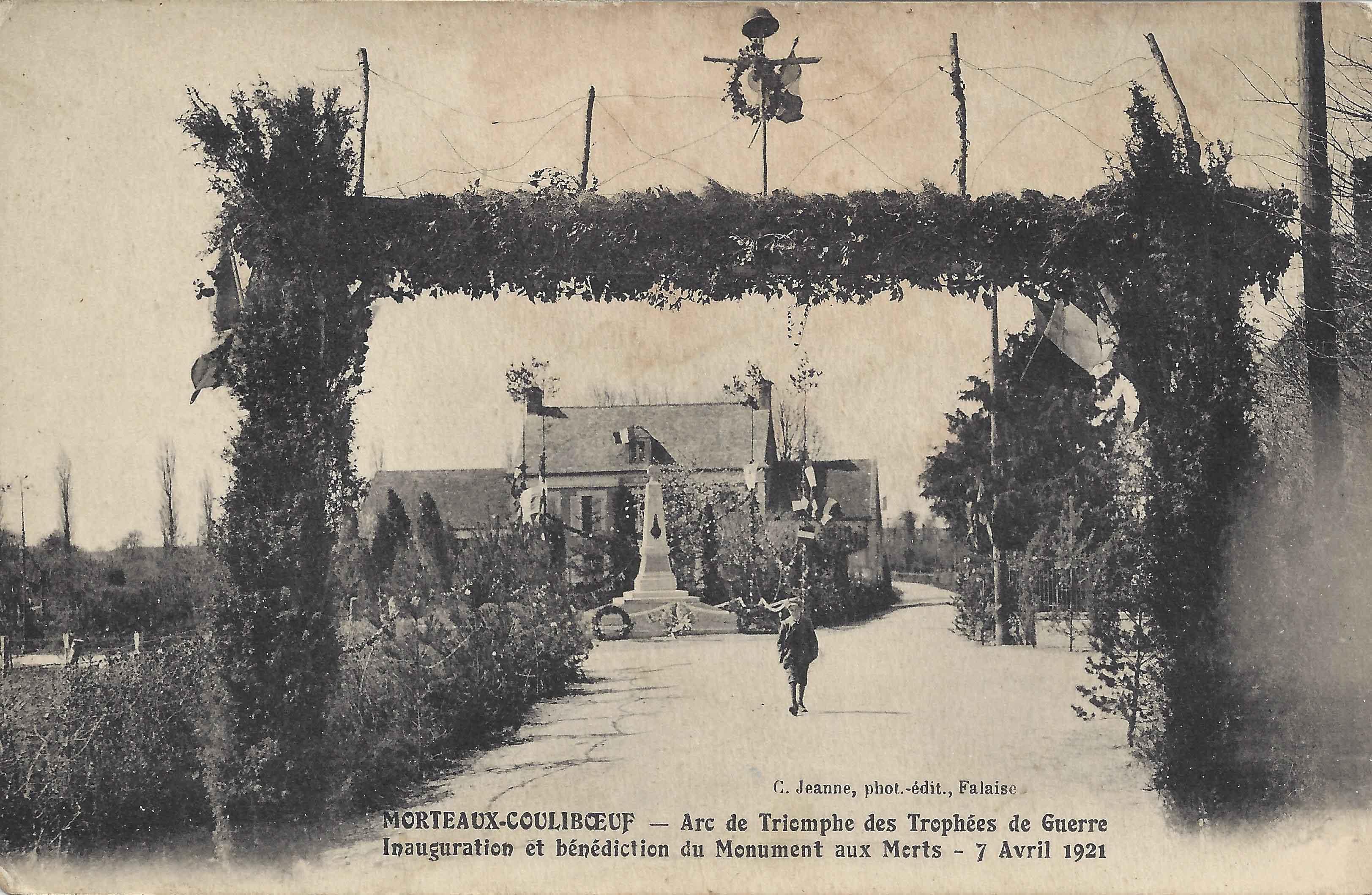 Monument aux morts 1921