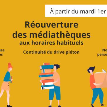 Réouverture des médiathèques du Pays de Falaise