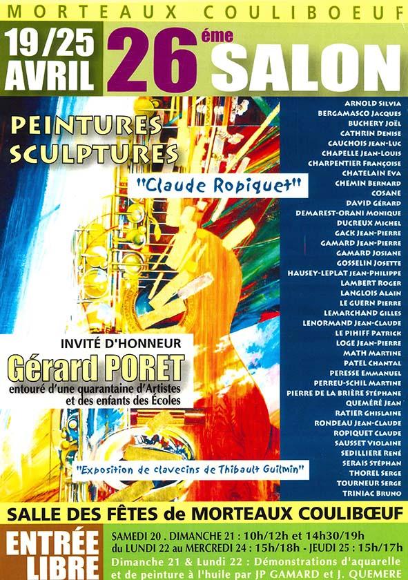26ème salon Peintures et Sculptures