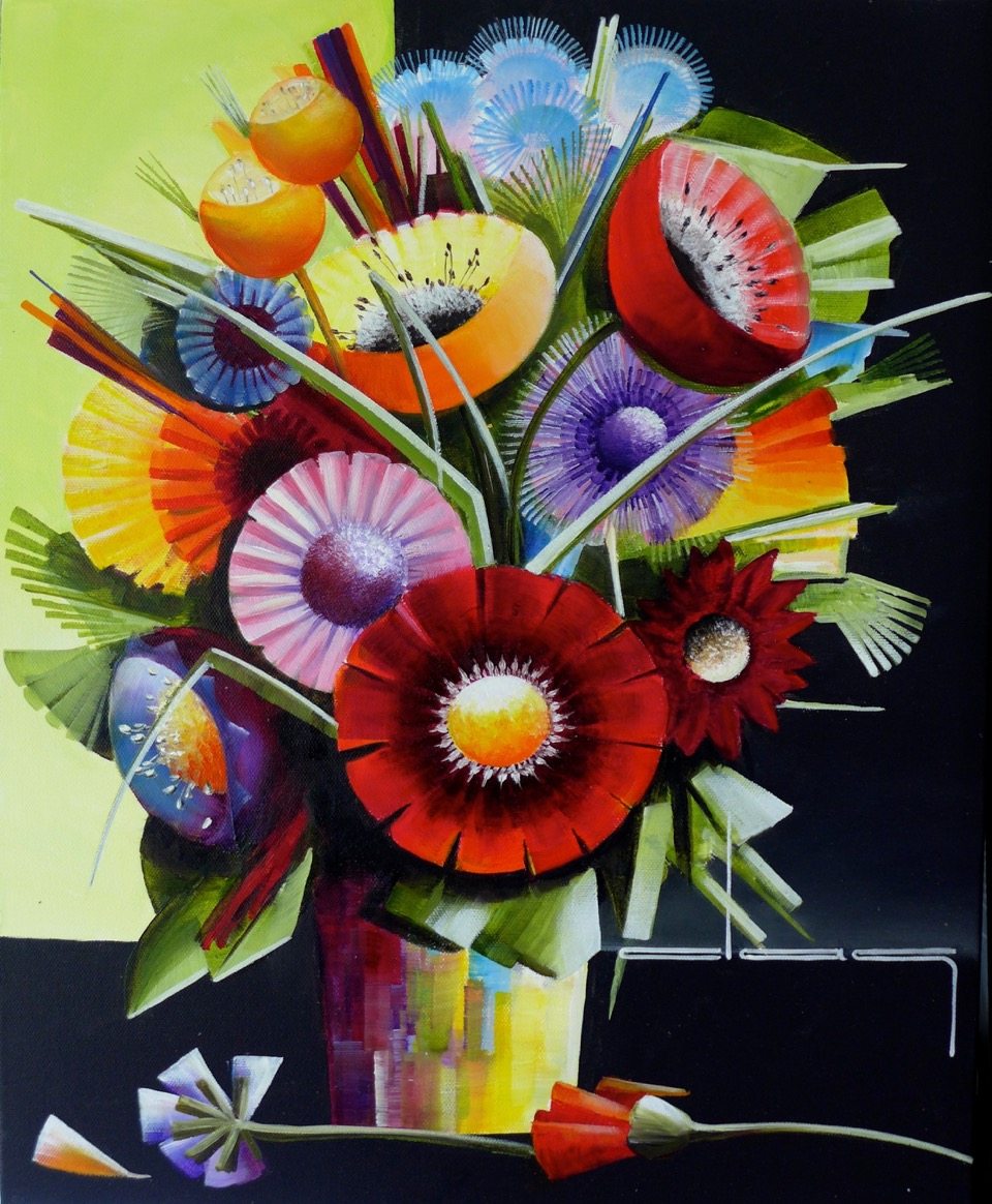 Fleur contemporaine