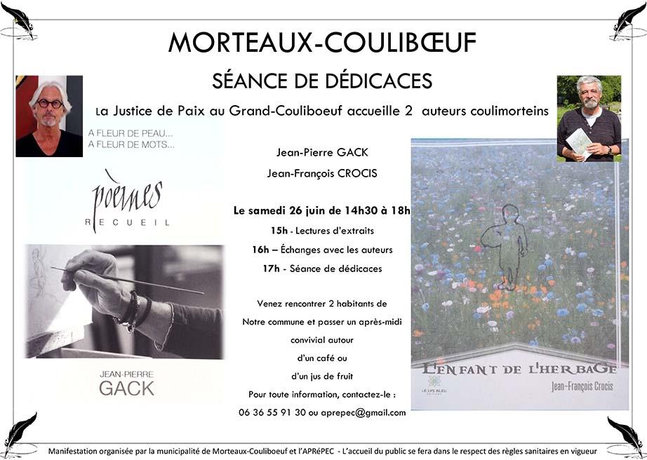 Séance de dédicaces @ Justice de Paix
