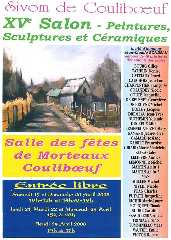 15ème salon Peintures, Sculptures et Céramiques