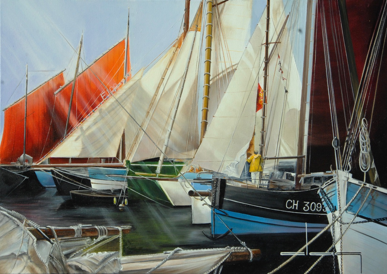Le Vieux port de Cherbourg