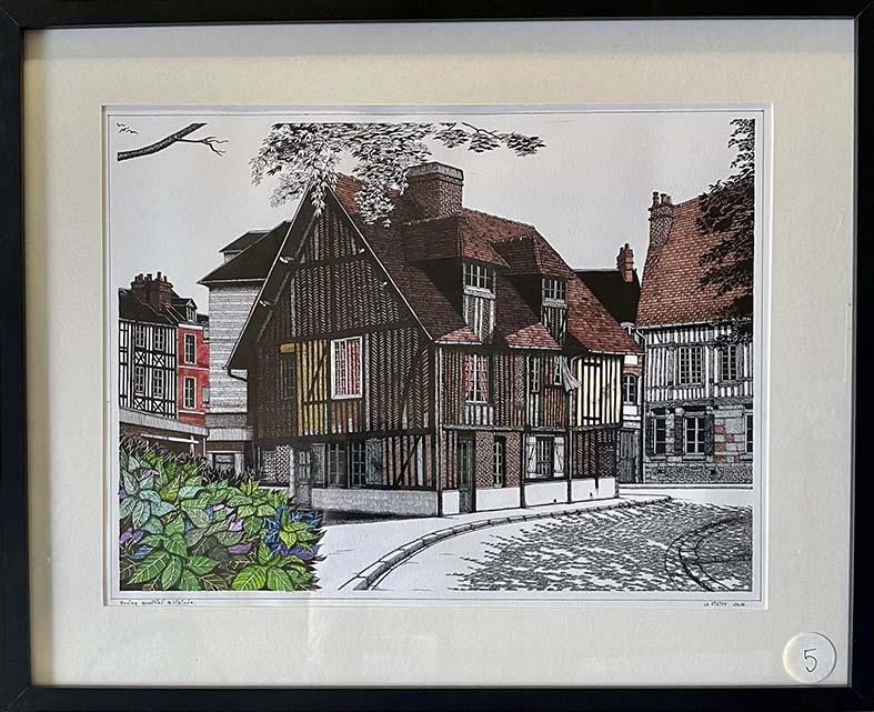 """""""Ancien quartier à Lisieux"""""""