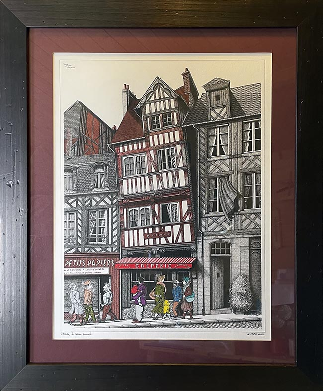"""""""Lisieux, la maison bancale"""""""