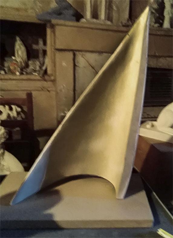 """""""Voile au vent"""" , Prix de vente 450 euros"""